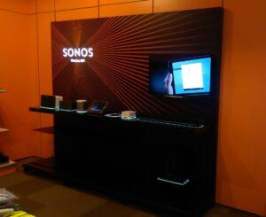 Plaatsen Sonos wand
